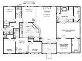 Floor Plan for Homes the Hacienda Ii Vr41664a Manufactured Home Floor Plan or