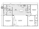 Floor Plan for Homes Velocity Model Ve32483v Manufactured Home Floor Plan or