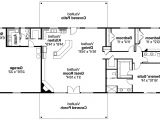 Floor Plan for Ranch Style Home Ranch Floor Plans withal Ranch House Plan Ottawa 30 601