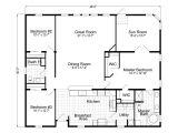 Floor Plan Home Wellington 40483a Manufactured Home Floor Plan or Modular