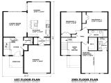 Floor Plans 2 Story Homes Simple Two Story House Modern Two Story House Plans