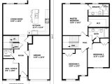 Floor Plans 2 Story Homes Small 2 Storey House Plans Pinteres