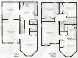Floor Plans 2 Story Homes Two Story House Plans