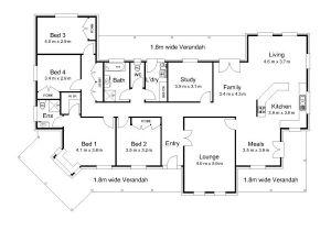 Floor Plans Australian Homes 2 Bedroom House Plans with Open Floor Plan Australia