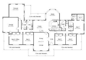 Floor Plans Australian Homes the Bourke Australian House Plans House Plans