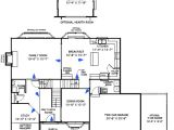 Floor Plans Custom Built Homes Custom Home Floor Plans the Oxford St Louis Mo