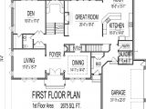 Floor Plans for 0 Sq Ft Homes House Plans 4000 to 5000 Square Feet