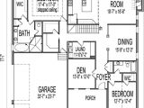 Floor Plans for 1 Story Homes New One Story Ranch House Plans with Basement New Home