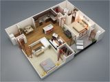 Floor Plans for 2 Bedroom Homes 2 Bedroom Apartment House Plans