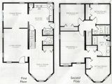 Floor Plans for 2 Story Homes Beautiful 4 Bedroom 2 Storey House Plans New Home Plans