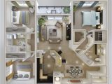 Floor Plans for 3 Bedroom Homes 3 Bedroom Apartment House Plans
