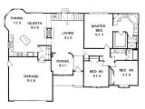 Floor Plans for 3 Bedroom Ranch Homes 3 Bedroom House Floor Plans In Kenya Beautiful Popular 3