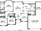 Floor Plans for 3 Bedroom Ranch Homes Ranch House Plan 3 Bedrooms 2 Bath 1746 Sq Ft Plan 7 150