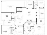 Floor Plans for 4 Bedroom Homes 4 Bedroom House Plans One Story 2018 House Plans and