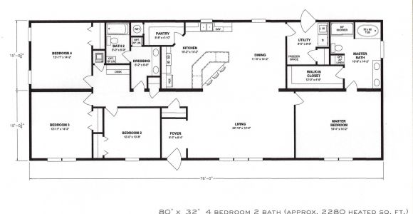 Floor Plans for 4 Bedroom Homes Best Ideas About Bedroom House Plans Country and 4 Open