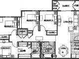 Floor Plans for 4 Bedroom Homes Four Bedroom House Plans