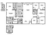 Floor Plans for 4 Bedroom Homes Luxury New Mobile Home Floor Plans Design with 4 Bedroom