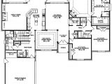 Floor Plans for A 4 Bedroom 2 Bath House 4 Bedroom 3 Bathroom House Plans 2017 House Plans and