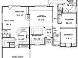 Floor Plans for A 4 Bedroom 2 Bath House Floor Plans for A 4 Bedroom 2 Bath House Beautiful 3