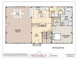 Floor Plans for Barn Homes Barn House Plans Smalltowndjs Com