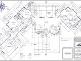 Floor Plans for Big Houses Big House Floor Plan Large Plans Architecture Plans 4063