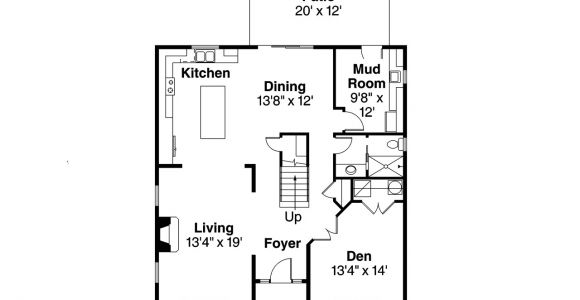 Floor Plans for Cape Cod Homes Cape Cod House Plans Hanover 30 968 associated Designs