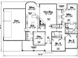 Floor Plans for Cape Cod Homes Cape Cod House Plans Open Floor Plan Cottage House Plans