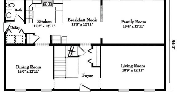 Floor Plans for Colonial Homes Colonial Style Homes Floor Plans Modular Gbi