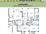 Floor Plans for Contemporary Homes Modern Courtyard House Plan 61custom Contemporary