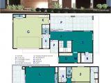 Floor Plans for Contemporary Homes Ultra Modern Live Work House Plan 61custom