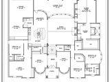 Floor Plans for Homes One Story House Plans 1 Story Smalltowndjs Com