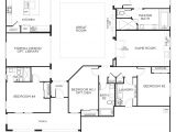 Floor Plans for Homes One Story Love This Layout with Extra Rooms Single Story Floor
