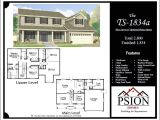Floor Plans for Homes Two Story 2 Story Floor Plans Psion Homes
