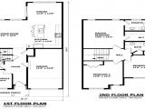 Floor Plans for Homes Two Story Modern 2 Story Home Floor Plans