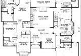 Floor Plans for Homes with Mother In Law Suites House Plans with Mother In Law Suites Plan W5906nd