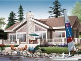 Floor Plans for Lakefront Homes House Plan Chp 35336 at Coolhouseplans Com