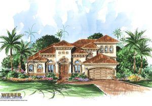 Floor Plans for Mediterranean Style Homes Mediterranean Home Plans