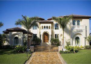 Floor Plans for Mediterranean Style Homes Mediterranean Style Home Designs Architecturein