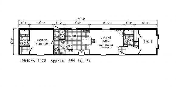Floor Plans for Mobile Homes Single Wide Manufactured Homes Mobile Single Wide Floor Plans