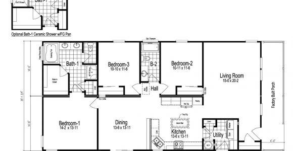 Floor Plans for Modular Home Wilmington Manufactured Home Floor Plan or Modular Floor Plans