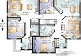 Floor Plans for Multi Family Homes Multi Family House Plan Multi Family Home Plans House