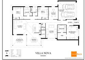 Floor Plans for One Story Homes Single Story Modern Architecture Modern Single Story House