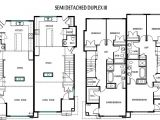 Floor Plans for Semi Detached Houses Duplex for Small Lot Joy Studio Design Gallery Best Design