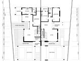 Floor Plans for Semi Detached Houses Single Storey Semi Detached House Plans Home Deco Plans