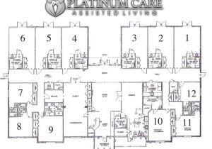 Floor Plans for Senior Homes assisted Living Facility Floor Plans Gurus Floor