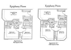 Floor Plans for Senior Homes House Plans for Senior Living