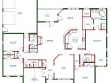 Floor Plans for Single Level Homes Beautiful Single Story Open Floor Plan Homes New Home