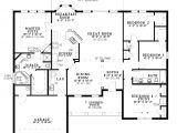 Floor Plans for Single Level Homes One Level Home Plans Smalltowndjs Com