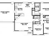 Floor Plans for Single Story Homes 3 Bedroom One Story House Plans toy Story Bedroom 3