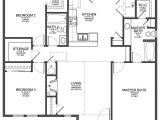 Floor Plans for Small Houses with 3 Bedrooms Small 3 Bedroom Modern House Plans Cottage House Plans